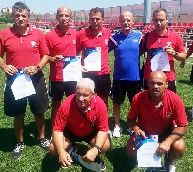 Shtohen trajnerë me licencë A të UEFA-së