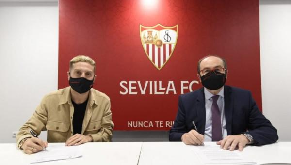 Sevilla prezanton Papu Gomezin