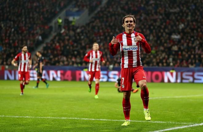 Griezmann shpëtoi Atleticon me super gol