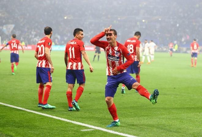 Super Griezmann, Atletico fiton Europa Leaguen