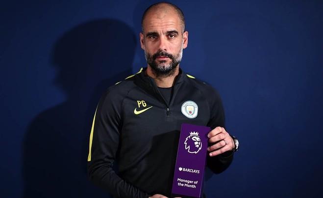 Guardiola, trajneri i muajit shkurt