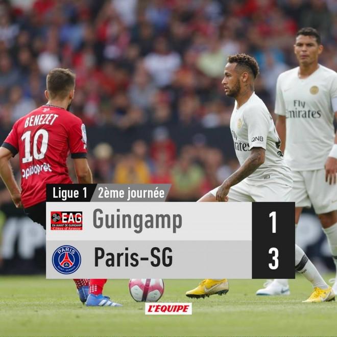 Neymar e Mbappe, për fitoren e dytë