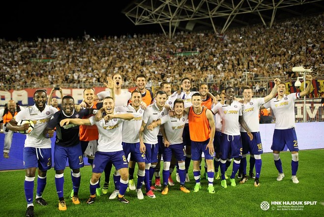 Hajduku eliminon Brondbyn e Besar Halimit