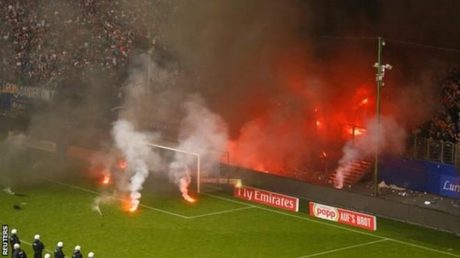 """""""Digjet"""" Hamburgu, bie nga Bundesliga për herë të parë"""