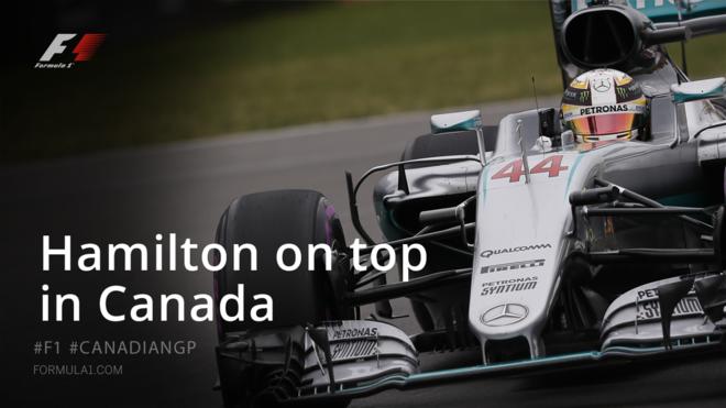 Hamilton fiton garën e Kanadasë