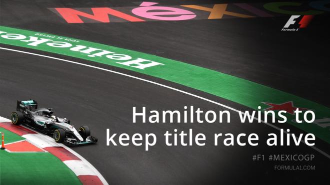 Triumfon Hamilton, hapet gara për titull