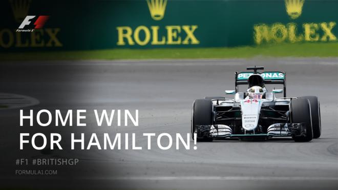 Hamilton fiton në shtëpinë e tij