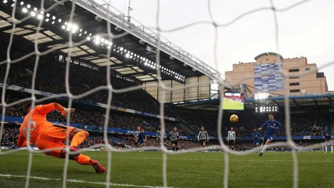 Hazard me çiftgolësh, Chelsea fiton
