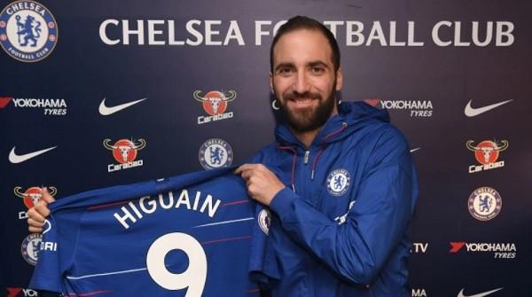 Rehatohet situata, Higuain në Chelsea