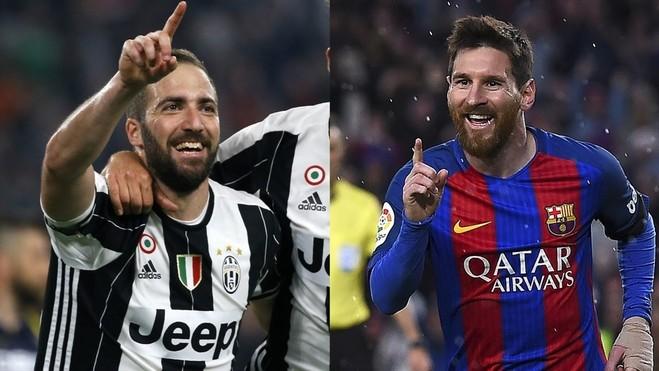 Juventus s'është mposhtur nga Barcelona në Torino