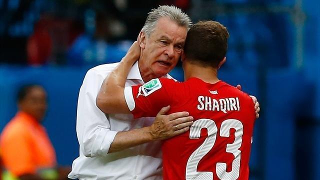 Hitzfield kërkon fitore ndaj Shqipërisë