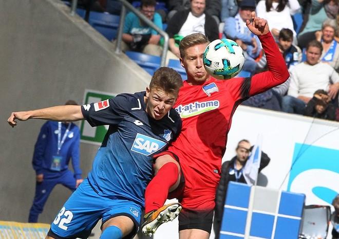 Hertha ndal Hoffenheimin