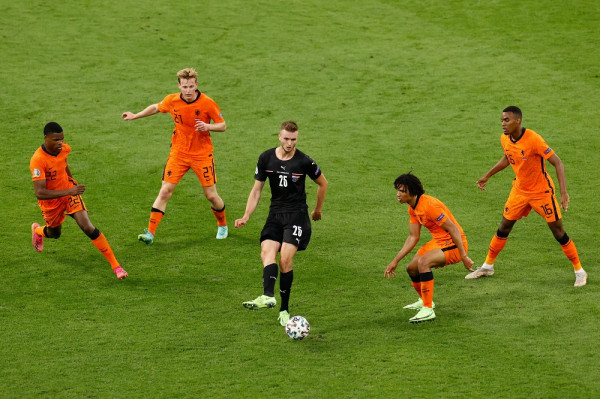 Notat e futbollistëve: Holanda-Austria