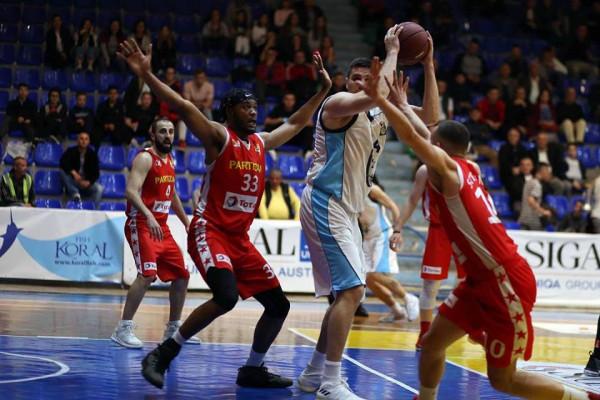 Teuta eliminon Partizanin, arrin finalen