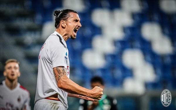 Ibra çon Milanin në pozitën e pestë