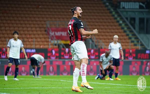 Ibra i jep fillim të mbarë Milanit