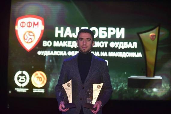 Enis Bardhi dhe Besart Ibraimi, më të mirët në Maqedoni