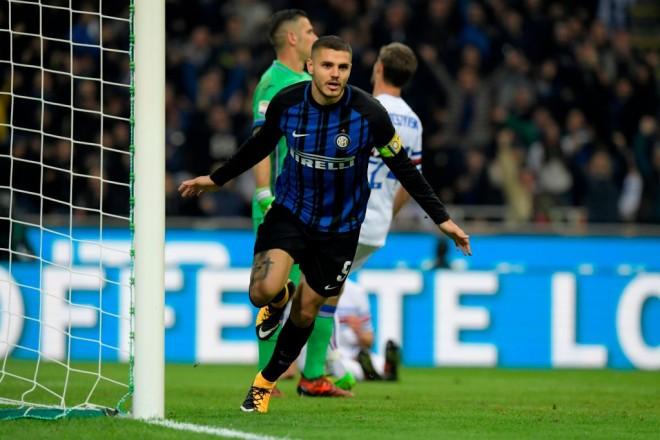 Icardi çiftgolësh, Inter lider në Serie A