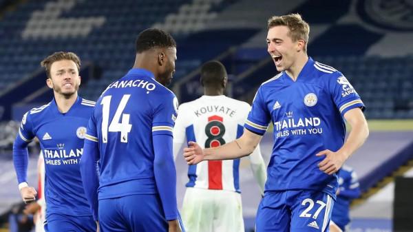 Iheanacho përmbys Palace'in, Leicester me një këmbë në Champions