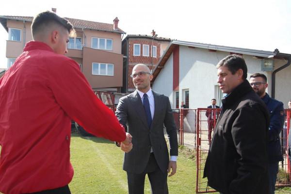 Ilija Ivic bën që ambasadorët t'i japin përkrahje atij dhe Flamurtarit