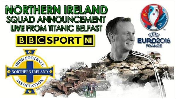 Irlanda Veriore publikon skuadrën përfundimtare