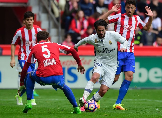 Isco mban Realin në lojë para El Clasicos