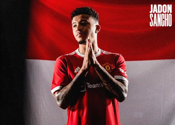 Gjithçka zyrtare, Jadon Sancho te Manchester United