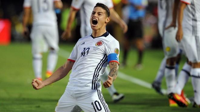 Kolumbia siguron çerekfinalen