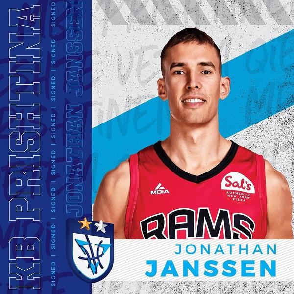 Prishtina zyrtarizon Jonathan Janssenin