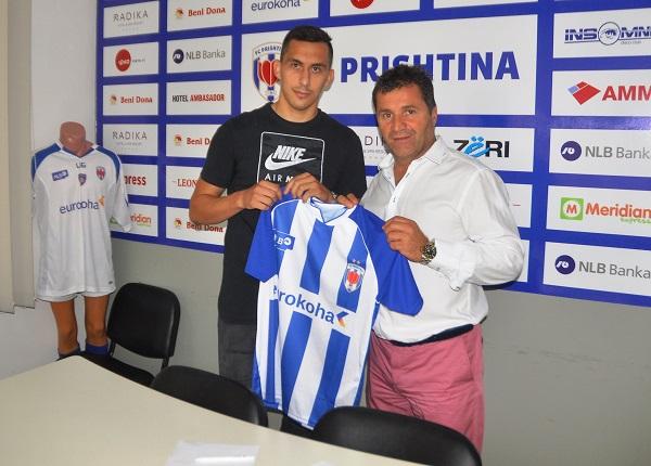 Ish lojtari i Prishtinës, nënshkruan me ekipin maqedon