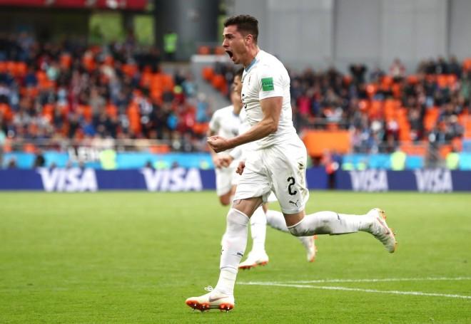 Gimenez për fitoren e Uruguajit