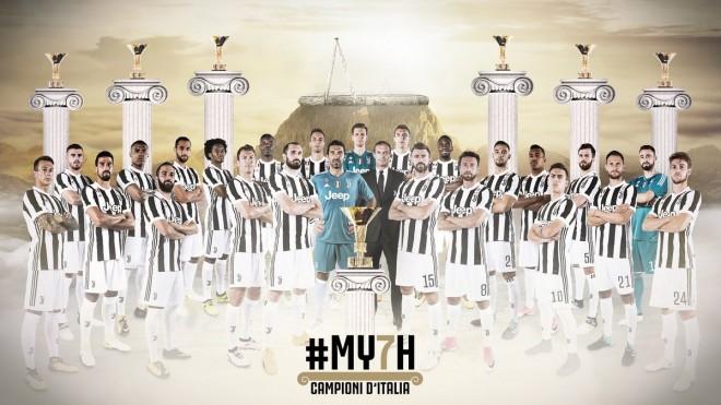 7 herë me radhë, Juventusi vazhdon dominimin