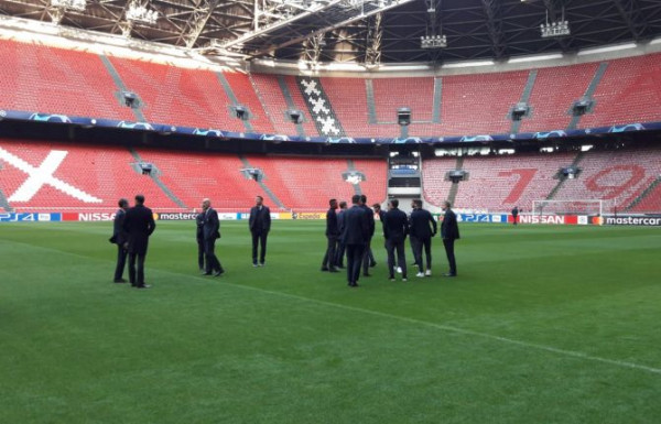 Ajax vs. Juventus, 11-shet startuese