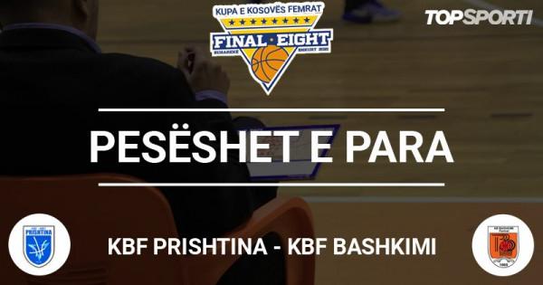 KBF Prishtina vs. KBF Bashkimi, pesëshet startuese