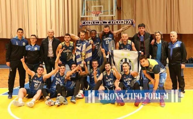 Tirana fiton Kupën e Shqipërisë