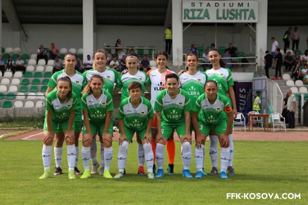 Kaltrina Biqkaj vendos, KFF Mitrovica kampione e Kosovës