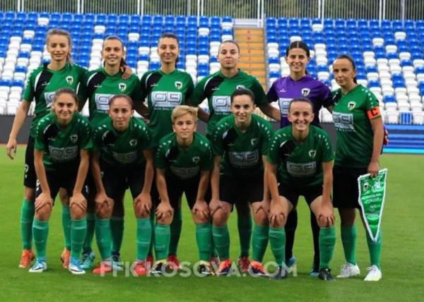 KFF Mitrovica shembull i ekipit të femrave, edhe e licensuar edhe pagat e rregullta