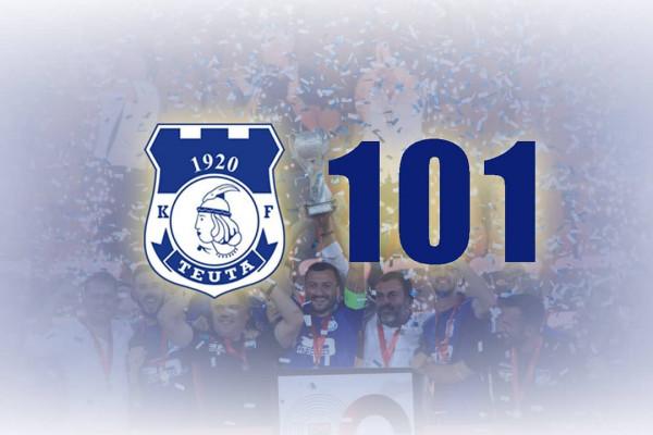 KF Teuta shënon 101 vjetorin e themelimit