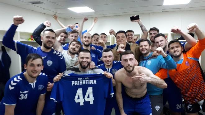 Prishtina arrin finalen