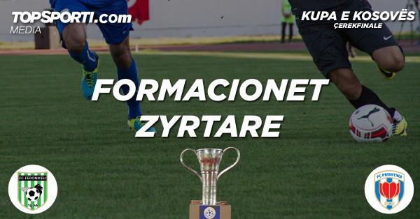 Formacionet zyrtare: Feronikeli - Prishtina