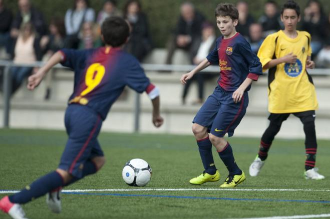 Labinot Kabashi inkuadrohet në fitoren e Barcelonës