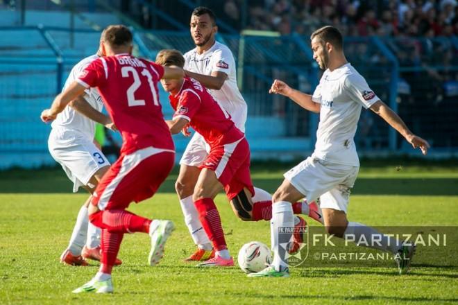 Edhe Kamza mposht Partizanin