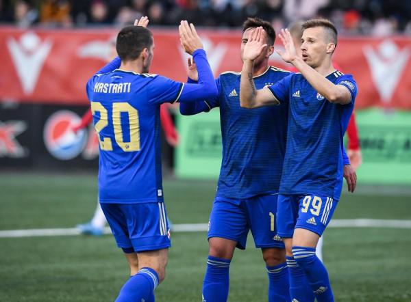 Lirim Kastrati me asist, Dinamo kualifikohet