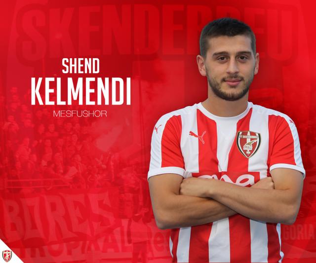 Shend Kelmendi zyrtarizohet, nënshkruan 3 vjet më Skënderbeun
