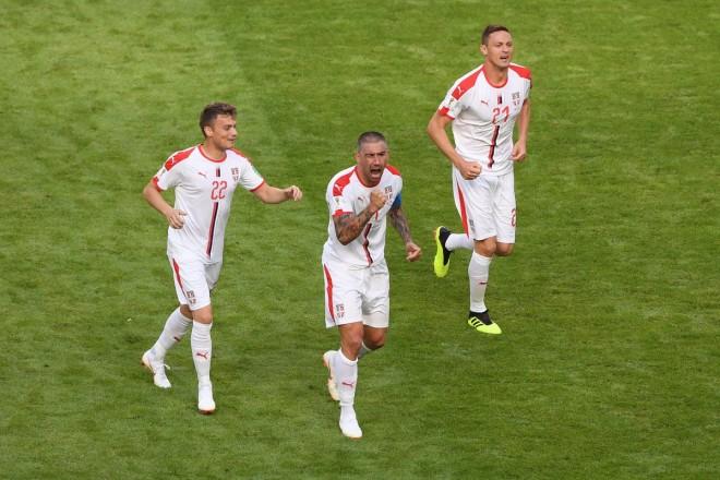 Kolarov vendos, Serbia fiton