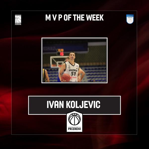 Ivan Koljevic, MVP i xhiros së parë nga FBK