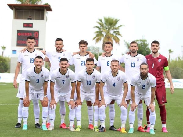 Formacionet zyrtare: Kosova - Gambia