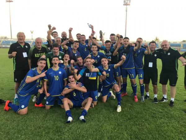 Kosova U17 mposht Zvicrën, një hap pranë kualifikimit