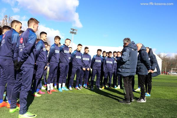 Kosova U19 nis përgatitjet për Ligën e Kombeve