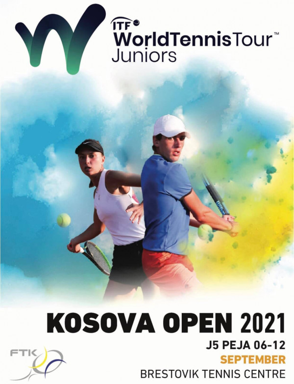 Kosova Open 2021, turneu i nivelit ITF mbahet në Pejë